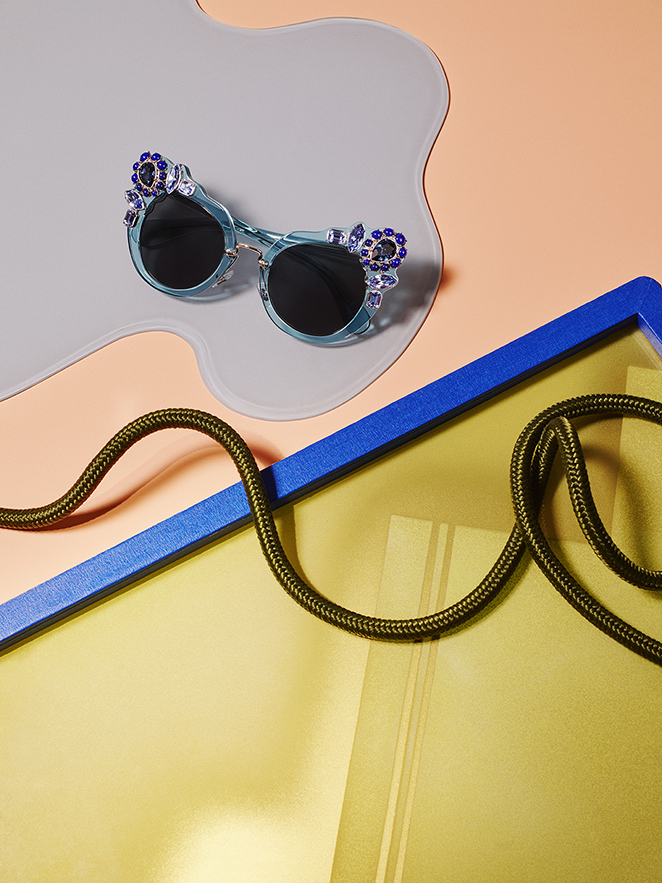 Metz Racine Still Life Photography Miu Miu Sunglasses
